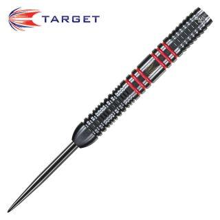Target Vapour 8 Black Red 25g Steel Tip Darts - D1428