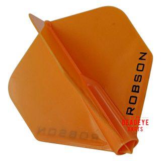 Robson Plus Dart Flights - Standard - Orange