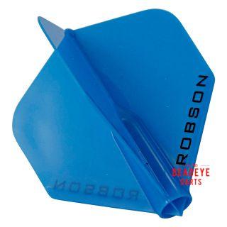 Robson Plus Dart Flights - Standard - Blue