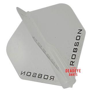 Robson Plus Dart Flights - Standard - Clear