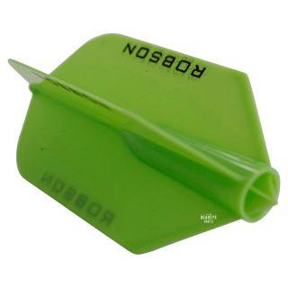 Robson Plus Dart Flights - Slim - Green