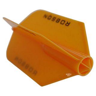 Robson Plus Dart Flights - Slim - Orange