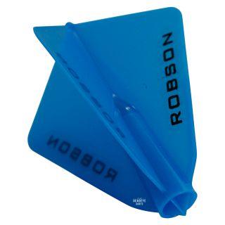 Robson Plus Dart Flights - Astra - Blue