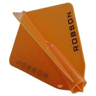 Robson Plus Dart Flights - Astra - Orange