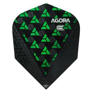 Target Agora Ultra Ghost 3D Green No 6 Shape Flights - F1072