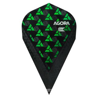 Target Agora Ultra Ghost 3D Green Vapor Flights - F1079