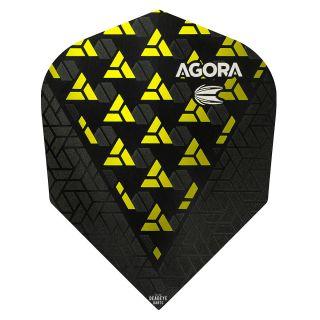 Target Agora Ultra Ghost 3D Yellow No 6 Shape Flights - F1080