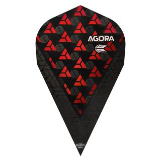 Target Agora Ultra Ghost 3D Red Vapor Flights - F1083