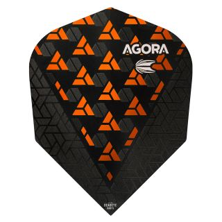 Target Agora Ultra Ghost 3D Orange No 6 Shape Flights - F1084