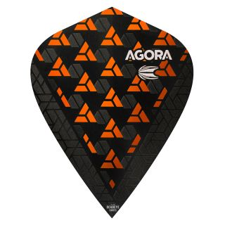 Target Agora Ultra Ghost 3D Orange Kite Flights - F1087