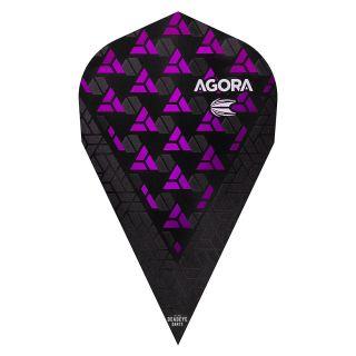 Target Agora Ultra Ghost 3D Purple Vapor Flights - F1091
