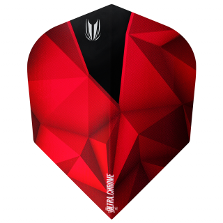 Target Shard Ultra Chrome Crimson No 6 Shape Flights - F1118