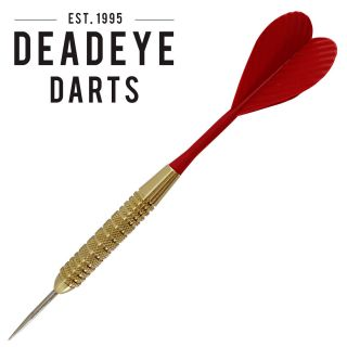Deadeye Brass Bar Darts - Steel Tip - 37-0150