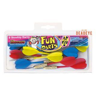 Harrows Fun Darts - Steel Tip - X0030