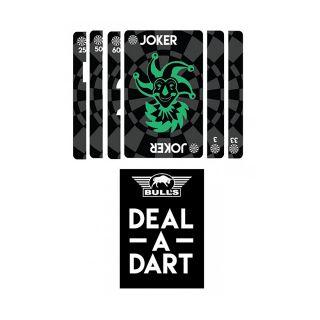 Bulls Deal-A-Dart - Dart Card Game