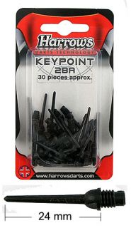 Harrows Soft Tip Key Points - 30 Pack - 37-HT00310-C