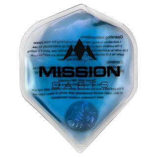 Mission Flux - Luxury Hand Warmer - Flight Shaped - Reusable - Blue