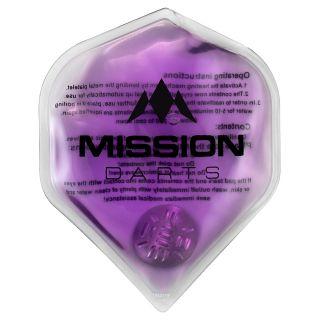 Mission Flux - Luxury Hand Warmer - Flight Shaped - Reusable - Purple