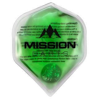 Mission Flux - Luxury Hand Warmer - Flight Shaped - Reusable - Green