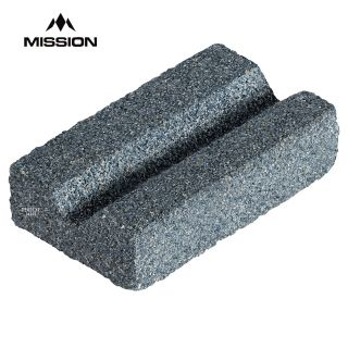 Mission V-Sharp Sharpening Stone - Dart Point Sharpener - with V Groove