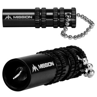 Mission Broken Shaft Removal Tool - Aluminium with Grip - Extractor Tool - Black