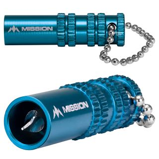 Mission Broken Shaft Removal Tool - Aluminium with Grip - Extractor Tool - Blue
