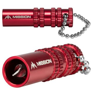 Mission Broken Shaft Removal Tool - Aluminium with Grip - Extractor Tool - Red