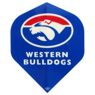 AFL Australian Football League Dart Flights - Western Bulldogs - F0464