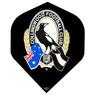 AFL Australian Football League Dart Flights - Collingwood - F0466