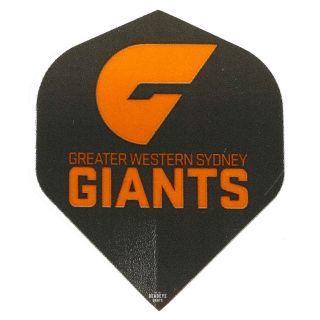 AFL Australian Football League Dart Flights - GWS Giants - F0471