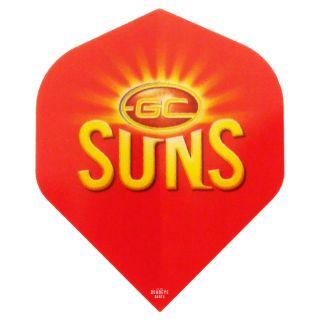 AFL Australian Football League Dart Flights - SUNS - F0477
