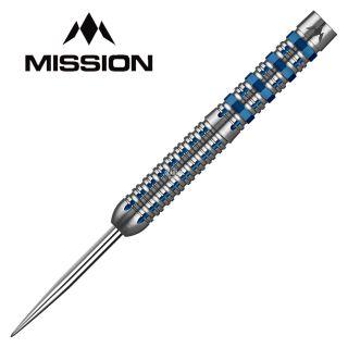 Mission Kronos Blue Titanium M2 22g Darts - D0439