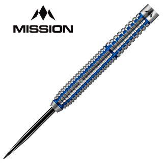 Mission Axiom Silver/Blue Titanium M1 21g Darts - D0466