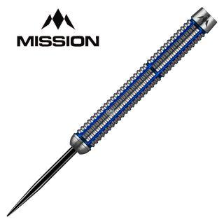 Mission Axiom Silver/Blue Titanium M2 26g Darts - D0471