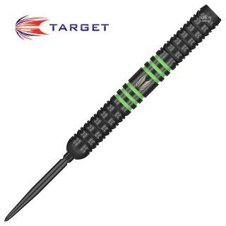 Target Vapour8  Black Green Swiss Point 26g Darts - D0730