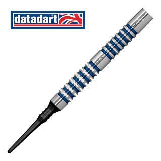 Datadart Jocky Wilson 22g Soft Tip Darts - Barrel Weight 20.5g - 95% Tungsten - D1112