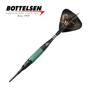 Bottelsen - Devastators Infinite Series 18g Green Soft Tip Darts - D1339