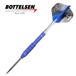Bottelsen - Xtreme Great White 25g Blue - Fixed Point - Steel Tip Darts - D1362