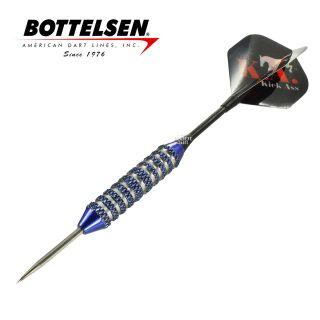 Bottelsen - Kick Ass Super Alloy 21g Teal Steel Tip Darts - D1368