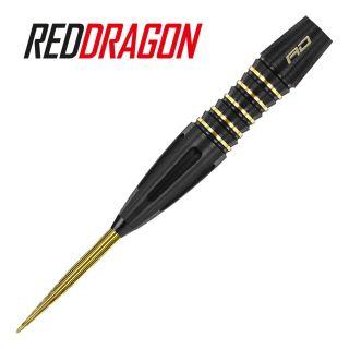 Red Dragon Clarion Black 26g Steel Tip Darts - D1655