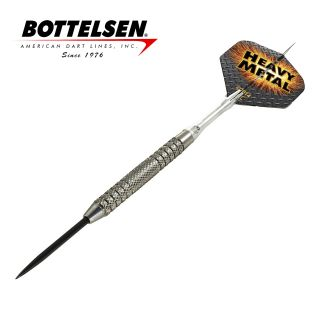 Bottelsen - Heavy Metal - 25g - Fixed Point - Steel Tip Darts - D1735