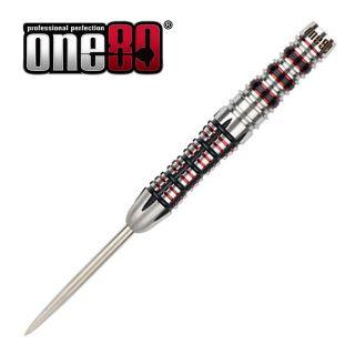 One80 Black J21 - 02 - 25g - Steel Tip Darts - D1772
