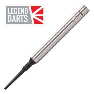 Legend Eric Bristow 22g Silver Ringed Soft Tip Darts - D1793