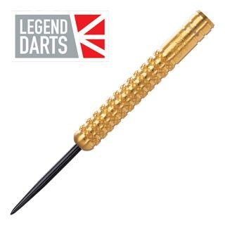 Legend Eric Bristow 25g Gold Knurled Steel Tip Darts - D1799