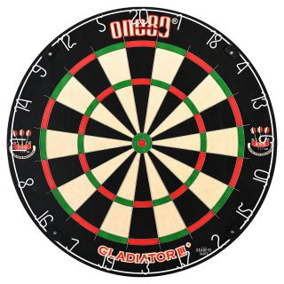 ONE80 Gladiator 3 Plus Dartboard with ONE80 Surround plus Optional Accessories