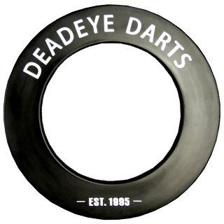 Deadeye Black Dartboard Surround
