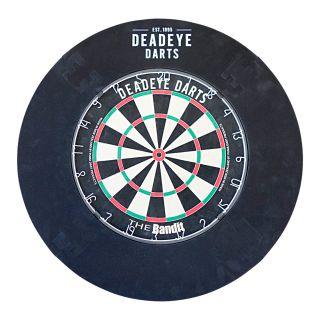 Deadeye 4 Piece Black Dartboard Surround
