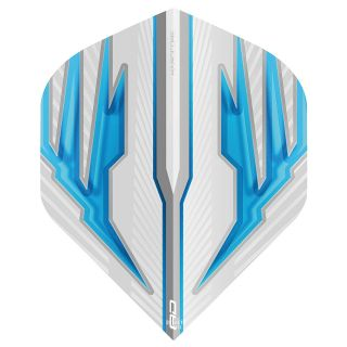 Hardcore White and Blue Dart Flights – F1373