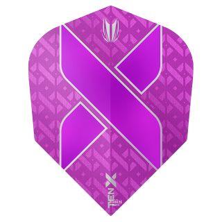 Target TEN-X Purple Dart Flights - F0052