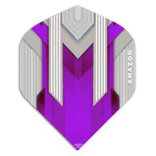 Amazon Silver Dart Flights - Purple